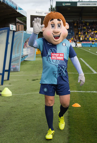 Bodger. Wycombe Wanderers Mascot