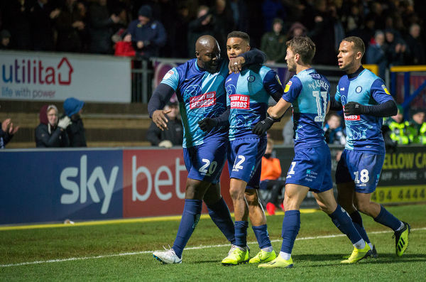 Wycombe Wanderers v Doncaster Rovers Sky Bet League 1 12/01/2019