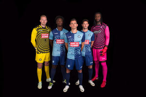 team photos 2018 19/new home gk kit launch 2018 19/clothing kit shirt shorts home training away