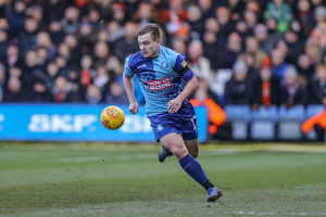 player photos 2018 19/17 luke bolton/luton town v wycombe wanderers sky bet league