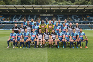 wycombe wanderers team photo 2018 19