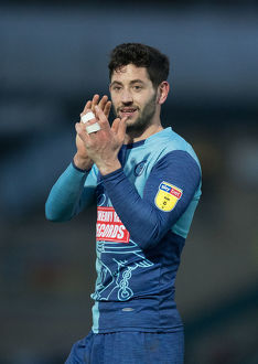 player photos 2018 19/3 joe jacobson/wycombe wanderers v bradford city sky bet league