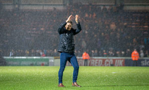 gareth ainsworth/wycombe wanderers v plymouth argyle sky bet league
